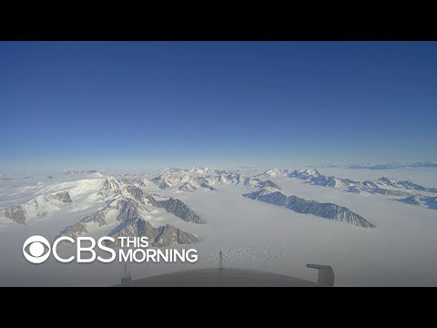 Climate Diaries: Measuring Antarctica's ice loss from the air