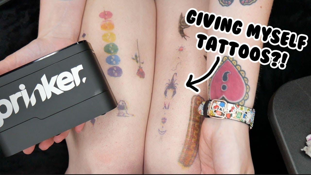 I Got A Tattoo Of My Youtube Logo Youtube