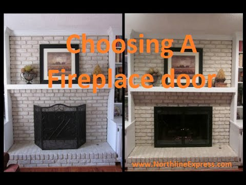 What To Consider When Choosing A Fireplace Door Youtube