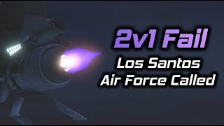 GTA Online: Oppressors Fail to 2v1 me so they call in the Los Santos Air Force...