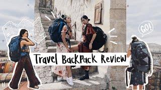 REVIEW I กระเป๋า Backpack ทั้งหมดที่ใช้เวลาเดินทาง ยี่ห้อไหนดีสุด?