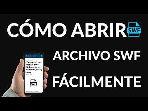 ¿Cómo Abrir un Archivo SWF Fácilmente en Windows, Mac y Linux?