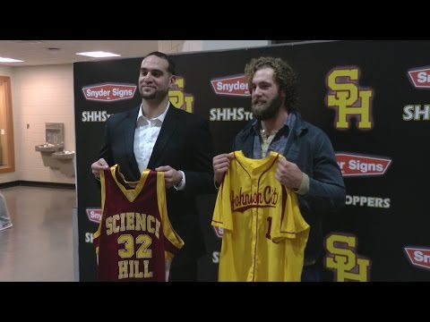 Science Hill retires Daniel Norris, Omar Wattad's jerseys