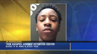 Teen escapes juvenile detention center
