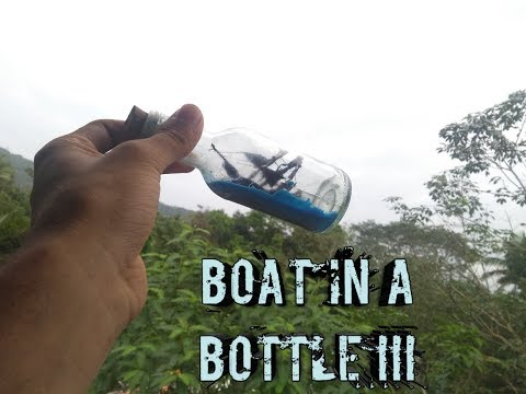 Wonderful Ship In a Bottle Model Completely From Waste ||Ship In a Bottle .