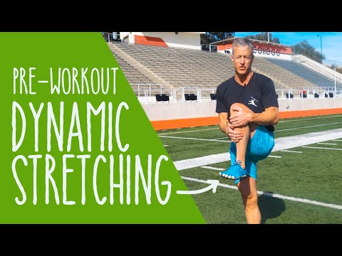 Pre-Workout Dynamic Stretching Routine