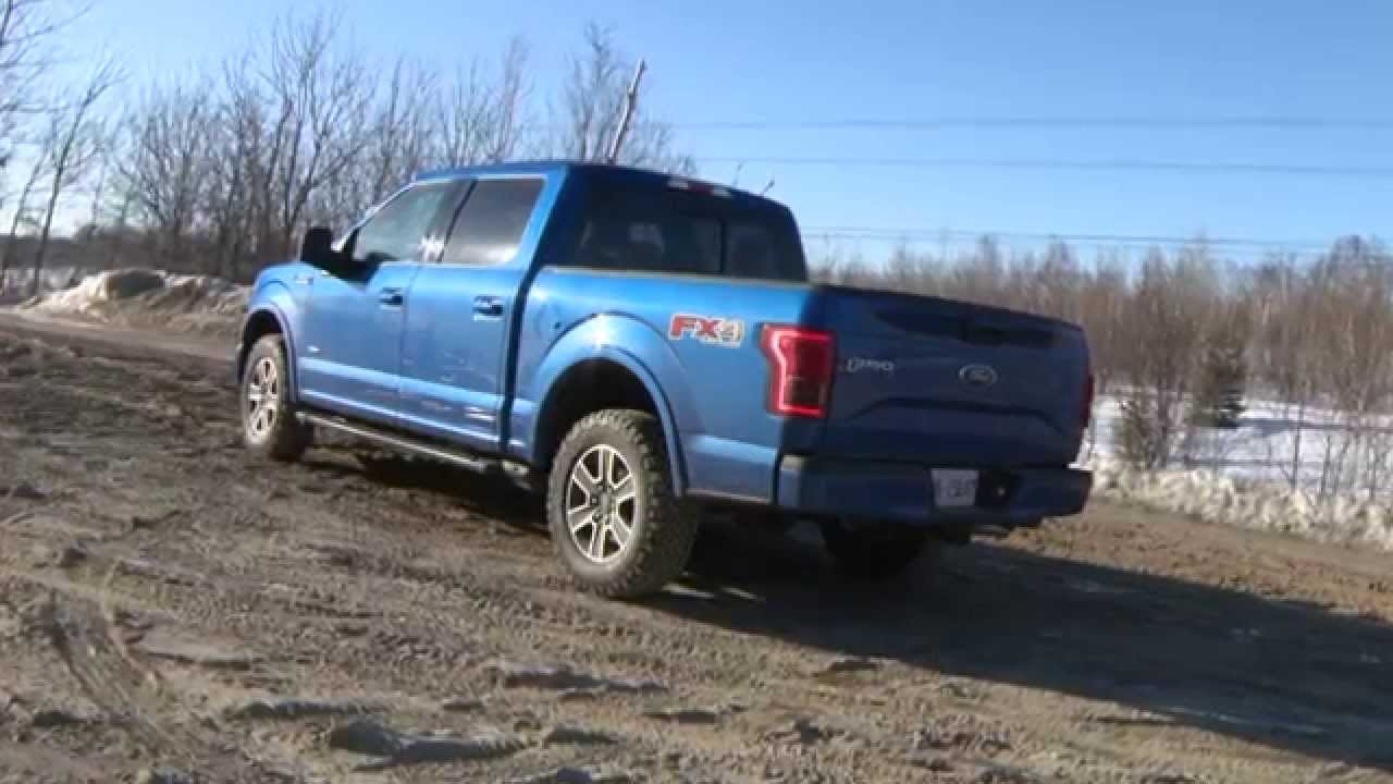 2015 ford f 150 2 7 ecoboost fx4 test drive youtube. Black Bedroom Furniture Sets. Home Design Ideas