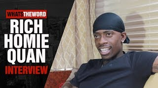 Rich Homie Quan on Leaving TIG, Not Talking To Young Thug + More!