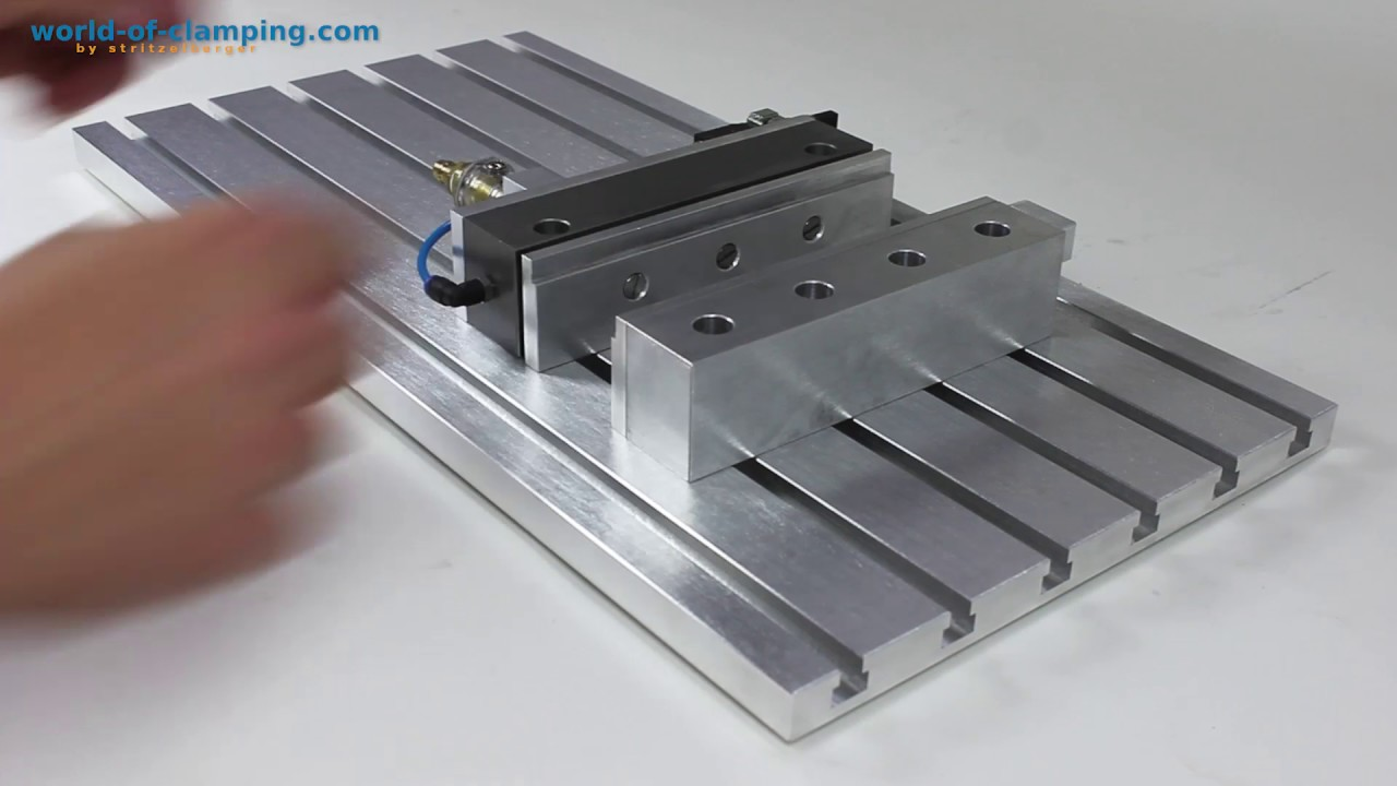 T-Slot Plate Tutorial ++ clamping devices - CNC - clamping chuck