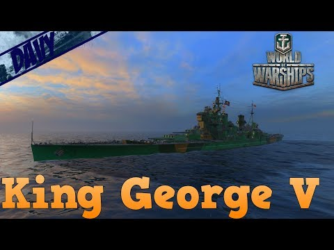 World of Warships - King George V - ROYAL NAVY