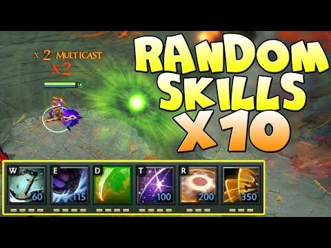 видео: РАНДОМНЫЕ СКИЛЛЫ Х10! dota x10 random skills