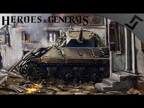 M10 Wolverine Infantry Destroyer - Heroes and Generals - American Tank Destroyer Gameplay