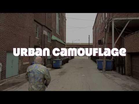 Urban Camouflage By Chicago contemporary artist Allen Vandever