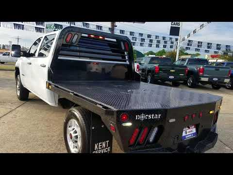 2016 GMC Sierra crew cab 4wd flatbed