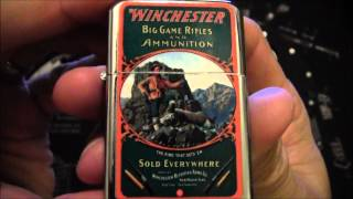 Collection of Winchester Lighters