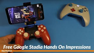 Free Google Stadia Hands On Impressions
