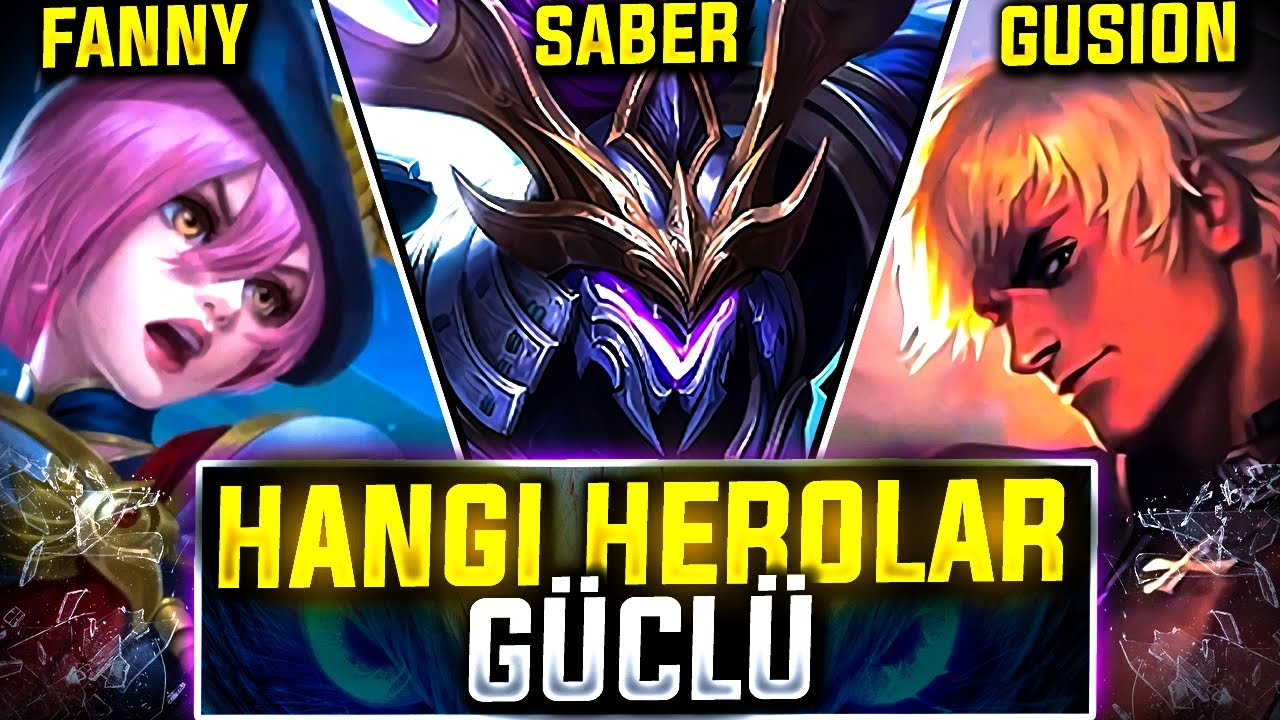 GUSİON SABER FANNY ORMAN DENEDİK NASIL OLDU - YENI SEZONA HAZIRLIK - Mobile Legends Bang Bang