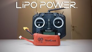 lipo battery for the taranis q x7