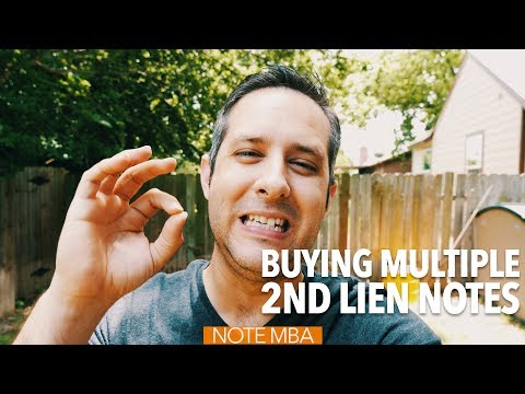 Buying Multiple 2nd Lien Notes, Instead of One 1st Lien Note - Note Investing Podcast
