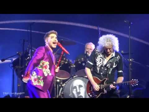 Q ueen + Adam Lambert - DSMN & BR - Prudential Center - Newark, NJ