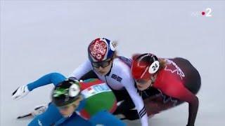 JO 2018 : Short-track - 500m femmes. Arianna Fontana en or, Choi disqualifiée