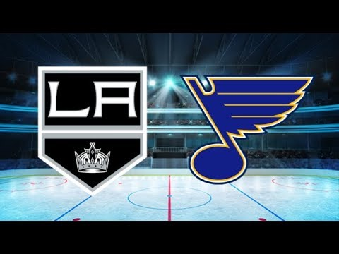 Los Angeles Kings vs St Louis Blues (4-1) All goals and Highlights!!
