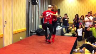 ataca y la alemana bachata workshop at the 2012 vancouver international salsa festival