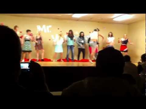 "Intro to Heber Springs High School ""Mr. Valetine"" pageant"