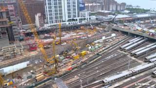 Hudson Yards Construction - December 2012 through August 2014