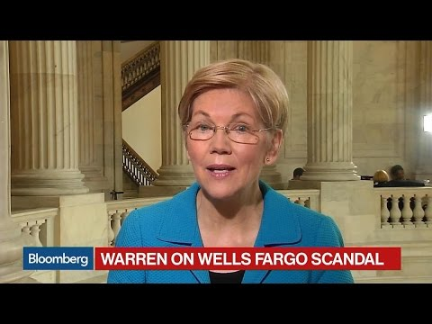 Elizabeth Warren: Something Is 'Badly Broken' at Wells Fargo