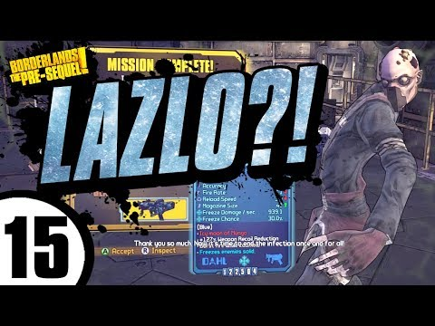 LAZLO'S NEFLECTITY?! Aurelia Day 15 - Borderlands: The Pre-Sequel