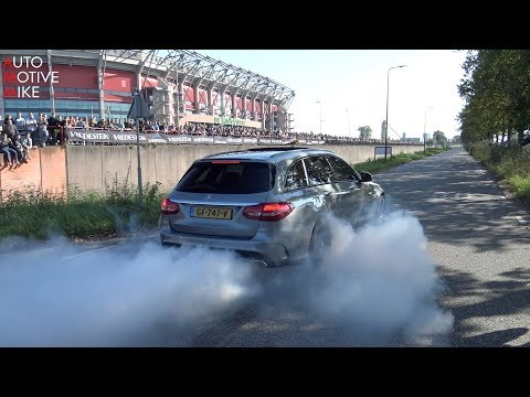 Super Car Accelerations #28 | Cars & Coffee Twente | BURNOUTS, REVS & BACKFIRE
