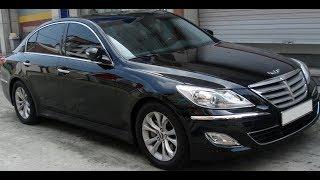 Обзор Хендай Генезис 2011 года.  Hyundai Genesis 2011