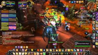 Shandris Feathermoon VS. Orgrimmar (Most powerful outdoor boss in World of Warcraft)