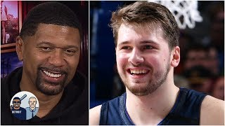 Jalen Rose reacts to Luka Doncic's electric return from injury | Jalen & Jacoby