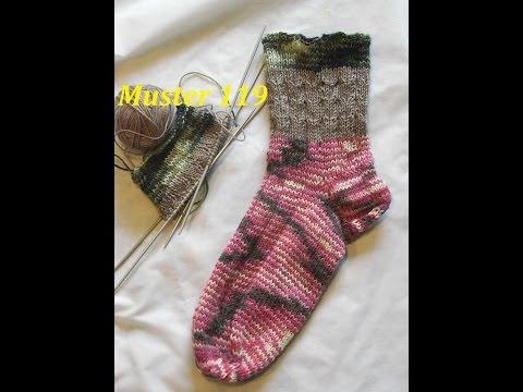 Muster 119 Muster  für Socken -Handschuhe -Mütze* Stricken mit Nadelspiel
