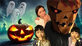 할로윈 무서운 잭오랜턴 만들기~ 저주에 걸린 호박 잭오랜턴의 저주를 풀어라 How to make a jack o lantern for happy halloween pumpkin