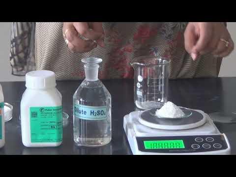 Preparing In organic Compound Potash Alum Class 12th