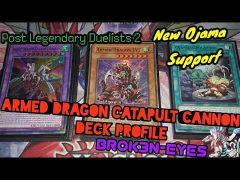 Armed Dragon Catapult Cannon Deck Profile New Ojama Support Chazz Deck!