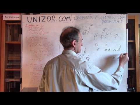 Unizor - Probability - Geometric Distribution - Problems 1
