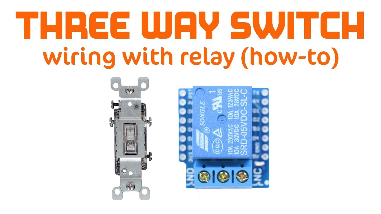 maker project relay as 3 way switch for use with raspberry pi wiring 3 way switch to relay [ 1280 x 720 Pixel ]