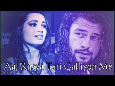 #Meremehboobqayamat, #Romanregins || Roman Reigns And Paige Aaj Rusva Teri Galliyon Me