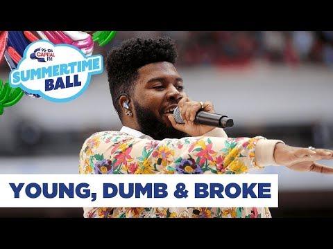 Khalid – 'Young, Dumb & Broke' | Live At Capital's Summertime Ball 2019