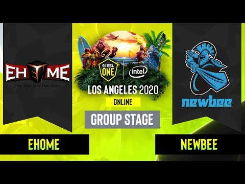 EHOME vs Newbee vod