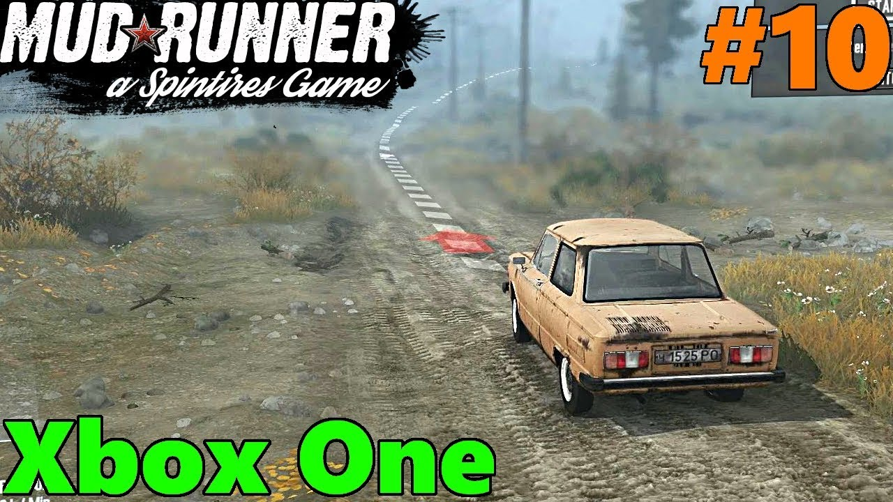 spintires mud runner xbox one let 39 s play part 10. Black Bedroom Furniture Sets. Home Design Ideas