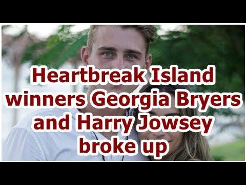 Heartbreak Island winners Georgia Bryers and Harry Jowsey broke up