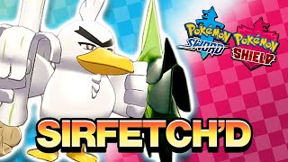 SIRFETCH'D REVEALED! - POKEMON SWORD AND SHIELD LIVE REACTION