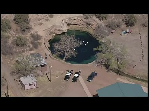 Swimmer finds explosive at Blue Hole