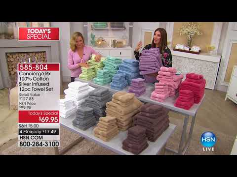 HSN | Concierge Collection Bedding 02.10.2018 - 08 AM