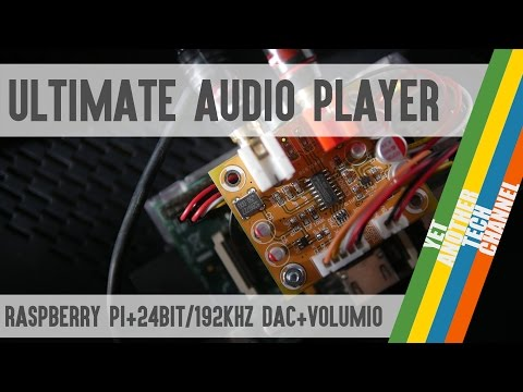 Raspberry Pi + Audiophonics DAC + Volumio = Ultimate Audio Player